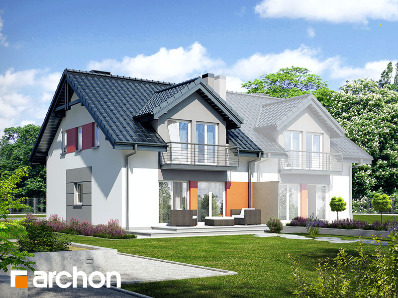 Dom v plamienkoch 9 (AB) ver.3 - Vizualizácia 2