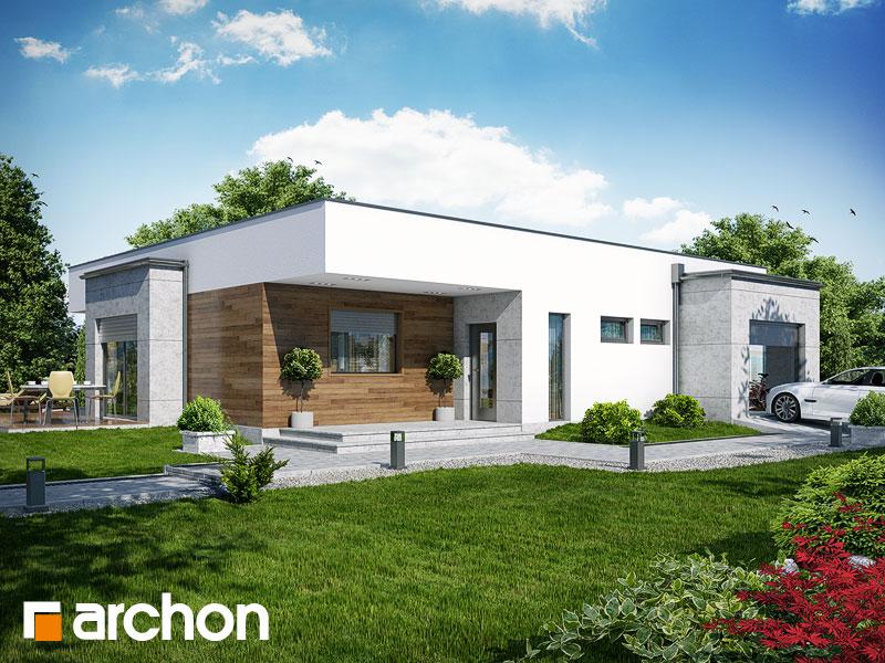 Dom v paróciách TERMO - Vizualizácia 1