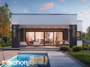 Projekt domu ARCHON+ Dom v peperómiách