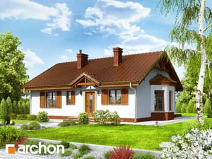 Projekt domu ARCHON+ Dom medzi černicami 2 ver.2