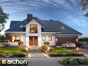 Projekt domu ARCHON+ Dom v slivkach 2 (G2P)