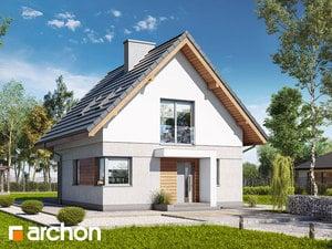 Projekt domu ARCHON+ Dom na pahorku (N)
