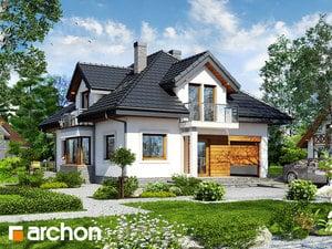 Projekt domu ARCHON+ Dom v abéli ver.2