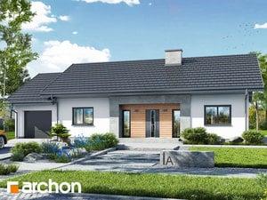 Projekt domu ARCHON+ Dom v kostravách 4 (G)