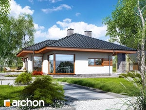 Projekt domu ARCHON+ Dom v amarante 5