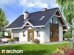 Projekt domu ARCHON+ Dom medzi čučoriedkami 2 ver.2