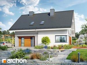 Projekt domu ARCHON+ Dom v malinčí 4
