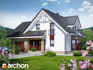 Projekt domu ARCHON+ Dom medzi tamariškami 2 (N) ver.2