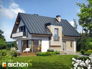 Projekt domu ARCHON+ Dom v amarilkách (W) ver.2