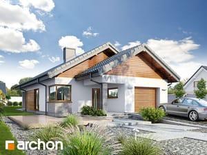 Projekt domu ARCHON+ Dom v povojníkoch 3 (G2)
