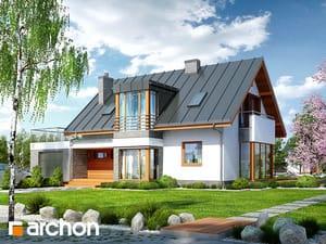 Projekt domu ARCHON+ Dom v mučenkách