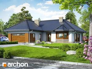 Projekt domu ARCHON+ Dom medzi gardéniami ver.2