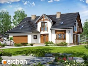Projekt domu ARCHON+ Dom v kalateách 8 (G2)