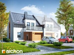 Projekt domu ARCHON+ Dom pod agávami 2 (B) ver.2