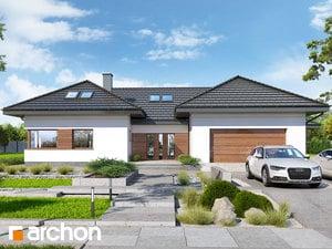 Projekt domu ARCHON+ Dom medzi kliviami 7 (G2)