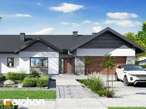 Projekt domu ARCHON+ Dom pri zlatobyle 4 (G2)