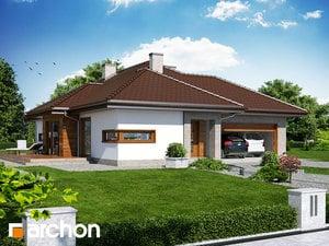 Projekt domu ARCHON+ Dom v cypruštekoch (G2) ver.2