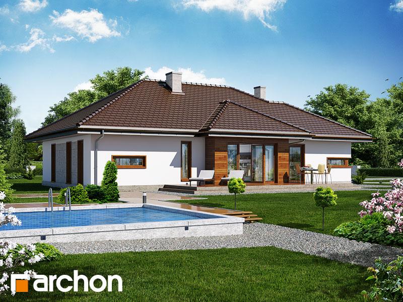 Dom v cypruštekoch (G2) ver.2 - Vizualizácia 2