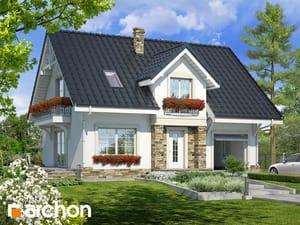 Projekt domu ARCHON+ Dom v lucerne 2 ver.2