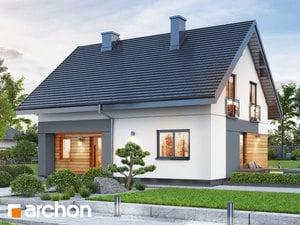Projekt domu ARCHON+ Dom v malinčí  11