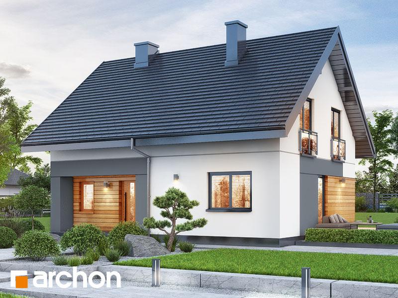 Dom v malinčí  11 - Vizualizácia 1