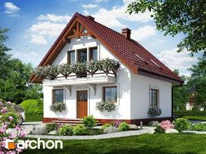 Projekt domu ARCHON+ Dom medzi rododendronmi 11 ver.2