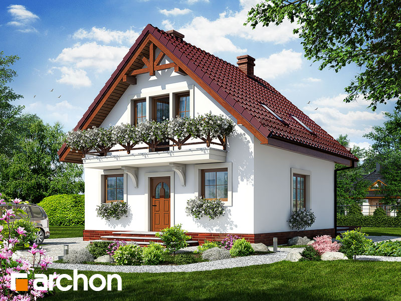 Dom medzi rododendronmi 11 ver.2 - Vizualizácia 1