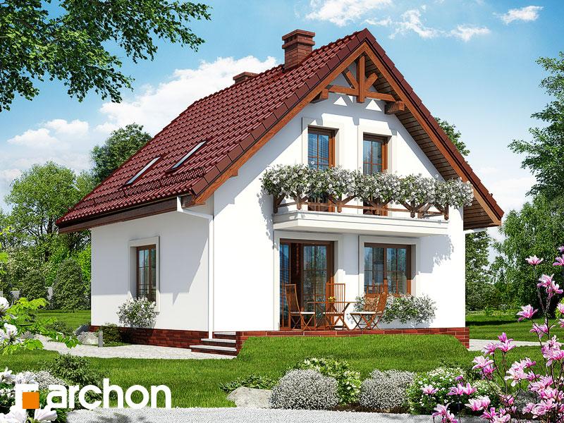Dom medzi rododendronmi 11 ver.2 - Vizualizácia 2