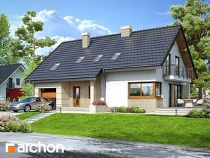 Projekt domu ARCHON+ Dom v idaredách 2 ver.2