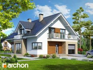 Projekt domu ARCHON+ Dom medzi tymiánom 5 ver.2