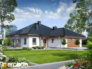 Projekt domu ARCHON+ Dom medzi kapucínkami ver.2