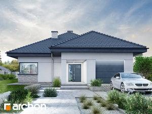 Projekt domu ARCHON+ Dom medzi ringlotami 2