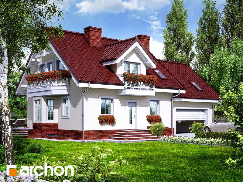 Dom medzi rododendronmi 6 (G2P) ver.2 - Vizualizácia 1