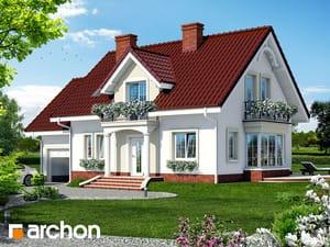 Projekt domu ARCHON+ Dom uprostred železníkov 2 ver.2