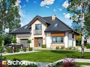 Projekt domu ARCHON+ Dom v kalateách 6
