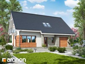 Projekt domu ARCHON+ Dom medzi jahôdkami 5 (GN) ver.2