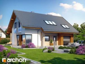 Projekt domu ARCHON+ Dom vo vistériách ver.2