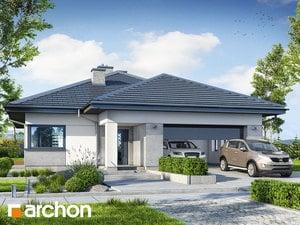 Projekt domu ARCHON+ Dom v jonagoldách 8 (G2)