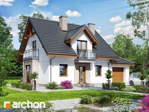 Projekt domu ARCHON+ Dom medzi rododendronmi 22