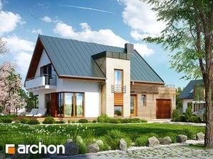 Projekt domu ARCHON+ Dom v amarilkách (P) Termo