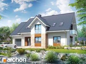 Projekt domu ARCHON+ Dom v lobelkách 5