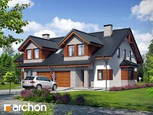 Projekt domu ARCHON+ Dom v plamienkoch 9 ver.2