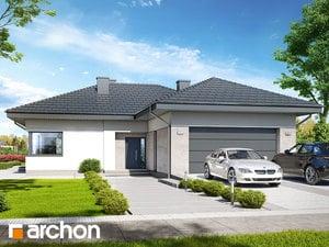 Projekt domu ARCHON+ Dom v snežienkach 6 (G2)
