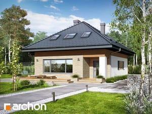 Projekt domu ARCHON+ Dom v orgovánoch (PD) ver.2