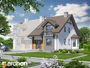 Projekt domu ARCHON+ Dom medzi stračonôžkami 2 ver.2