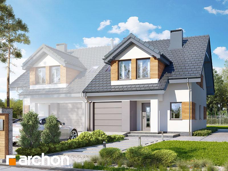 Dom v plamienkoch 12 (B) ver.2 - Vizualizácia 1
