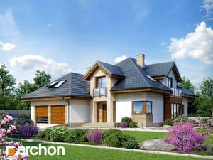 Projekt domu ARCHON+ Dom v monarde (G2N) ver.2