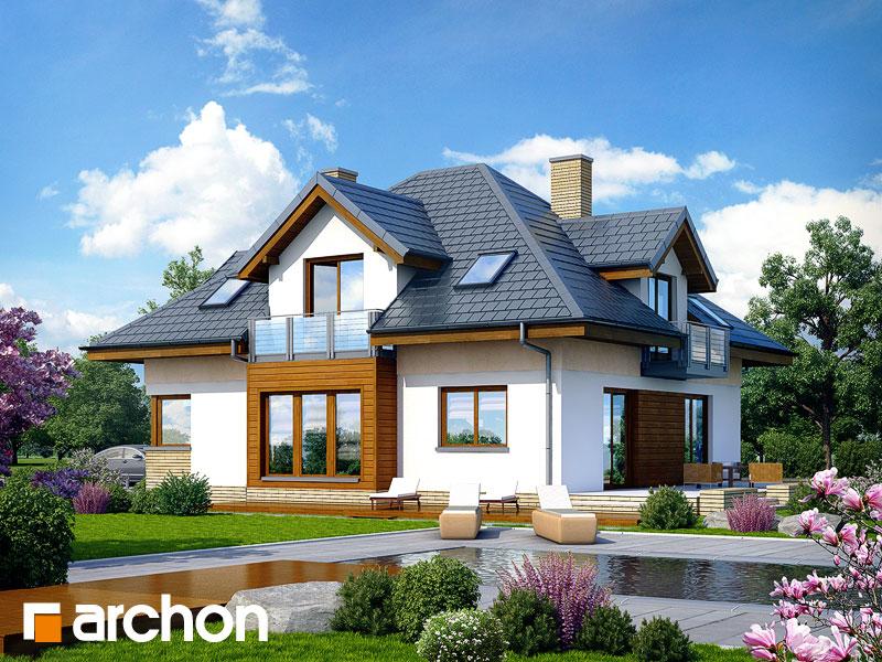 Dom v monarde (G2N) ver.2 - Vizualizácia 2