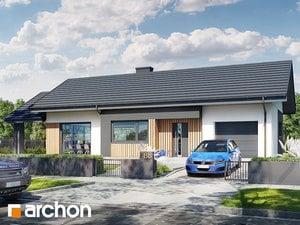 Projekt domu ARCHON+ Dom v galách 7 (G)