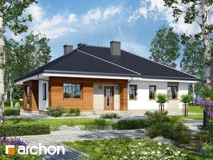 Projekt domu ARCHON+ Dom medzi gerániami
